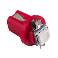 10db hry® b8 5d 5050 led 1 smd T5 lámpa autó gauge Speedo kötőjelet izzó műszerfal műszer 12V