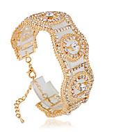 Damskie Bransolety Tenis Moda Bransoletki Biżuteria Srebrny / Złota Na Ślub
