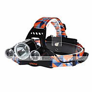 cheap -U'King ZQ-X823 Headlamps Headlight LED 4500 lm 4 Mode Cree XM-L T6 Rechargeable Compact Size Easy Carrying High Power