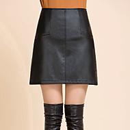 Žene Veći konfekcijski brojevi A kroj Suknje - Jednobojni
