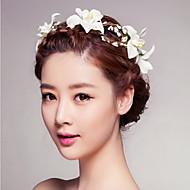 seaside smukke rose blomst kranse pandebånd til dame bryllupsfest ferie hår smykker