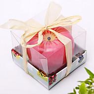 リンゴの技術の香りのキャンドル誕生日お祝いのお祝い
