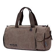 Men Bags All Seasons Canvas Travel Bag for Casual Sports Outdoor Black Brown Khaki