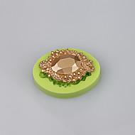 Vysoká kvalita šperky diamant silikonový fondant dort zdobení plísně nástroje na pečení náhodné barvy
