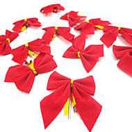 12PCS /ロットクリスマスちょう結びのクリスマスギフトクリスマスツリーの飾り