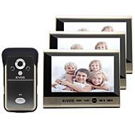 30W 120 CMOS Doorbell System Trådløs Multifamily video ringeklokke