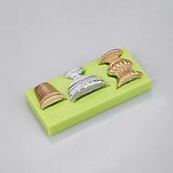 Molde de silicone com forma de vidro com desconto para bolacha de fondant Bolinho de chocolate com doces Ferramentas de decoração Ramdon Color