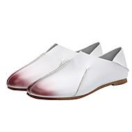 Dame Mocasini & Balerini Primăvară / Vară / Toamnă Confortabili / Pantof cu Berete Imitație de Piele Outdoor / Casual Toc Plat AlteleMaro
