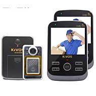 30W像素 170° CMOS Doorbell System Trådløs Fotografert / Opptak
