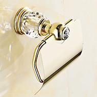 Suport Hârtie Toaletă Contemporan Alamă 1 buc