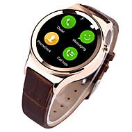 tanie Inteligentne zegarki-Inteligentny zegarek na iOS / Android Wodoszczelny Czasomierz / Stoper / Rejestrator aktywności fizycznej / Rejestrator snu / Pulsometr / GSM (900/1800/1900MHz) / Odbieranie bez użycia rąk