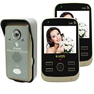KiVOS KDB302A Wireless Home Video Intercom Doorbell Anti Tamper Alarm Camera Lock