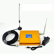 GSM 900mhz 3G W-CDMA 2100mhz Signal Booster Mobile Phone Signal Repeater LCD Display / Dual Band