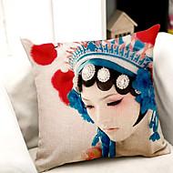 1.0 kpl Puuvilla/pellava Tyynyliina / Body-tyyny / sohva tyyny,Uutuudet / Graafiset tulosteetModerni/nykyaikainen /