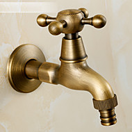 Antique Brass Finish Faucet Accessory Contemporary Brass Valve