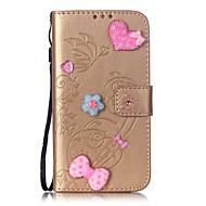 billiga Mobil cases & Skärmskydd-fodral Till LG G3 LG LG K4 LG K10 LG K7 LG G5 LG G4 LG-fodral Korthållare Plånbok Strass med stativ Lucka Mönster Läderplastik Fodral