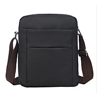 Men Bags Canvas Shoulder Bag for Casual Outdoor Office & Career All Seasons Black Coffee Khaki
