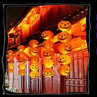 Halloween pompoen decoraties papieren lantaarn bar is ingericht draagbaar jack hangende pompoen met een baard 20cm