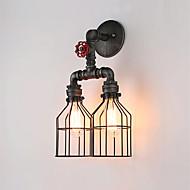 tanie Kinkiety Ścienne-Wiejski Vintage Tradycyjny / Classic Kraj Retro Lampy ścienne Na Metal Światło ścienne 110-120V 220-240V 60W
