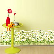 billige Tapet-Blomstret Trær / Blader Art Deco Hjem Dekor Moderne Tapetsering, Pvc / Vinyl Materiale selvklebende nødvendig Grense, Tapet