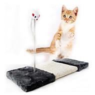 Kissan lelu Lemmikkieläinten lelut Interaktiivinen Raapimisalusta Hiiri Sisal