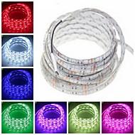 ZDM® 5m フレキシブルLEDライトストリップ 300 LED 5050 SMD 温白色 / RGB / ホワイト 防水 / カット可能 / 接続可 12 V 1個 / IP65 / ノンテープ・タイプ