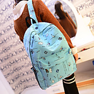 Women Bags All Seasons Polyester Backpack for Casual Outdoor Green Blue Blushing Pink Khaki