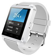 tanie Inteligentne zegarki-Inteligentny zegarek Ekran dotykowy Krokomierze Śledzenie odległości Odbieranie bez użycia rąk Obsługa wiadomości Długi czas czuwania
