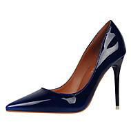 abordables Talons pour Femme-Femme Chaussures Polyuréthane Printemps / Eté Confort / Escarpin Basique Chaussures à Talons Talon Aiguille Bout pointu / Bout fermé Vin