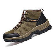 Χαμηλού Κόστους Παπούτσια πεζοπορίας-Ανδρικά PU Άνοιξη / Φθινόπωρο Ανατομικό Αθλητικά Παπούτσια Πεζοπορία Αντιολισθητικό Γκρίζο / Χακί / Σκούρο πράσινο