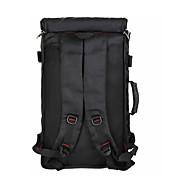 billige Computertasker-Herre Tasker Nylon Rejsetaske Ensfarvet Sort