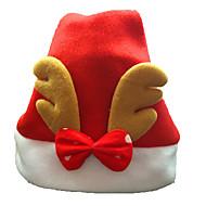ornamento do Natal adultos normais chapéus de Natal chapéus de Santa com chifres para decoração chiristmas casa partido