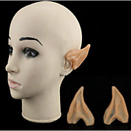 halloween dress up cos elf oren oren plastic model simulatie speelgoed bal partij props 6,5 * 5 cm