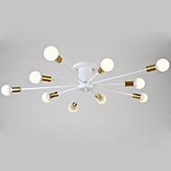 billige Taklamper-DengLiangZhiXin 10-Light Takplafond Omgivelseslys - designere, 110-120V / 220-240V, Varm Hvit, Pære ikke Inkludert / 15-20㎡ / E26 / E27
