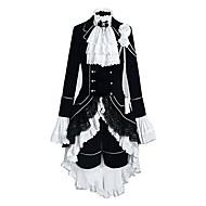 Χαμηλού Κόστους Anime PLA-Εμπνευσμένη από Στολές Ηρώων Στολές Ηρώων Anime Στολές Ηρώων Κοστούμια Cosplay Συνδυασμός Χρωμάτων / Patchwork Μακρυμάνικο Γιλέκο / Πουκάμισο / Φούστα Για Ανδρικά / Γυναικεία Κοστούμια Halloween