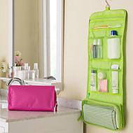 saco de armazenamento portátil cosméticos saco de viagem cosméticos para o comércio exterior (cores aleatórias)