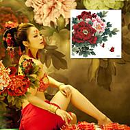 1 Tatoveringsklistermærker Blomster Serier Mønster Stor Størrelse VandtætDame Flash tatovering Midlertidige Tatoveringer