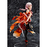 cheap -Anime Action Figures Inspired by Guilty Crown Inori Yuzuriha PVC(PolyVinyl Chloride) 20 cm CM Model Toys Doll Toy