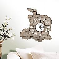 maisons modernes / contemporaines 3d horloge murale mur intérieur créatif horloge