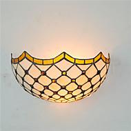 tanie Kinkiety Ścienne-Muślin Wiejski Tradycyjny / Classic Kraj Lampy ścienne Na Metal Światło ścienne 110-120V 220-240V 60WW