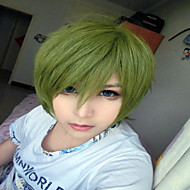 32cm Green Short Anime Role Kuroko no Basuke Midorima Shintaro Cosplay Wigs