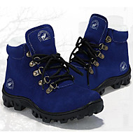 お買い得  子供用ハイカット-男女兼用 靴 スエード 冬 ブーツ ウォーキング 編み上げ のために グリーン / ブルー