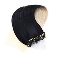 neitsi 20''50strands 1g / s micro anel de extensões de cabelo ligações de loop de 100% Remy cabelo humano t1-60 #
