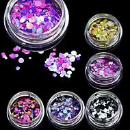1 pcs Paillettes Adorable Manucure Manucure pédicure Quotidien Glitters / Mode