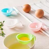 billige Eggeverktøy-kjøkken Verktøy Plast Kreativ Kjøkken Gadget trakt for Egg 1pc