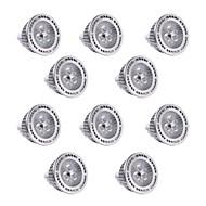 billige Spotlys med LED-YWXLIGHT® 10pcs 3 W 300 lm LED-spotpærer 3 LED perler SMD 3030 Mulighet for demping / Dekorativ Varm hvit / Kjølig hvit 12 V / 10 stk. / RoHs
