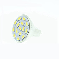 5W GU4(MR11) LED Spotlight MR11 15 SMD 5630 480-500 lm Warm White Natural White Red Blue Green 3000-3500 6000-6500K K Dimmable DC 12 AC