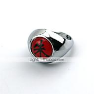 Šperky Inspirovaný Naruto Cosplay Anime Cosplay Doplňky kroužek Czerwony Stop Pánský