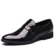 Men's Shoes Leather Winter Spring Summer Fall Comfort Fashion Boots Loafers & Slip-Ons Rivet for Casual Outdoor Office & Career Party &