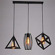 voordelige -CXYlight 3-Light TROS Plafond Lichten & hangers Sfeerverlichting - Ministijl, 110-120V / 220-240V LampNiet Inbegrepen / 15-20㎡